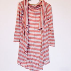 5/20$ Pood Pink & White Striped Duster
